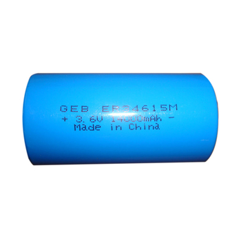 er34615m lithium ion battery 3.6v 14000mah