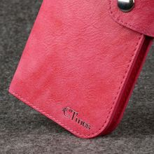 new products leather phone case for samsung galaxy s i9000 lcd screen