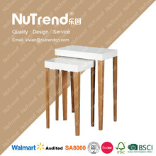 thicken MDF wood indoors mission end tables