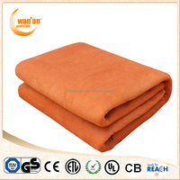 Luxury Coral Flannel Fleece Electric Throw Sheet Heating Blanket