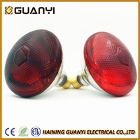 2016 New PAR38 top painted red infrared lamp with CE RoSH ETL certificate