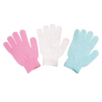 Shower Back Exfoliating Bath Scrub Gloves