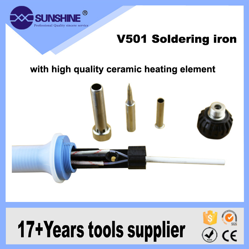 High Efficiency Ceramic Heater Element Long Life Mobile Phone Soldering Iron