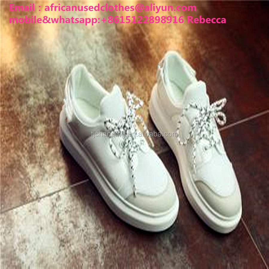 used shoes/ Second Hand shoes,ladies flat shoes, door to door snowy whitecolour shoes