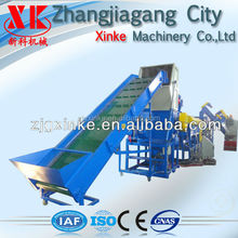 PET plastic bottle crushing machine and washing line