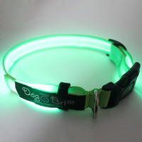 New products 2016 innovative product customized led dog collar and leash sample free