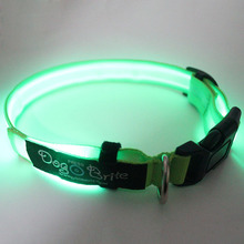 New products 2018 innovative product customized led dog collar and leash sample free