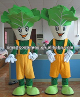 cartoon vegetable mascot costume cabbage costume for adults