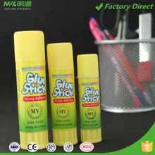 High quality strong adhesive pva pvp material solid glue stick brands for school and office use