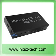 HDMI Splitter 1x4 V1.3 3D 4 port HDMI Splitter 1 input 4 outputs Support 3D