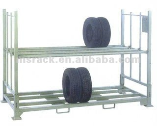 portable tire shelves