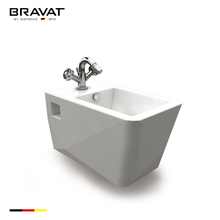 High quality ceramic self cleaning Wall hung toilet bidet C2622W