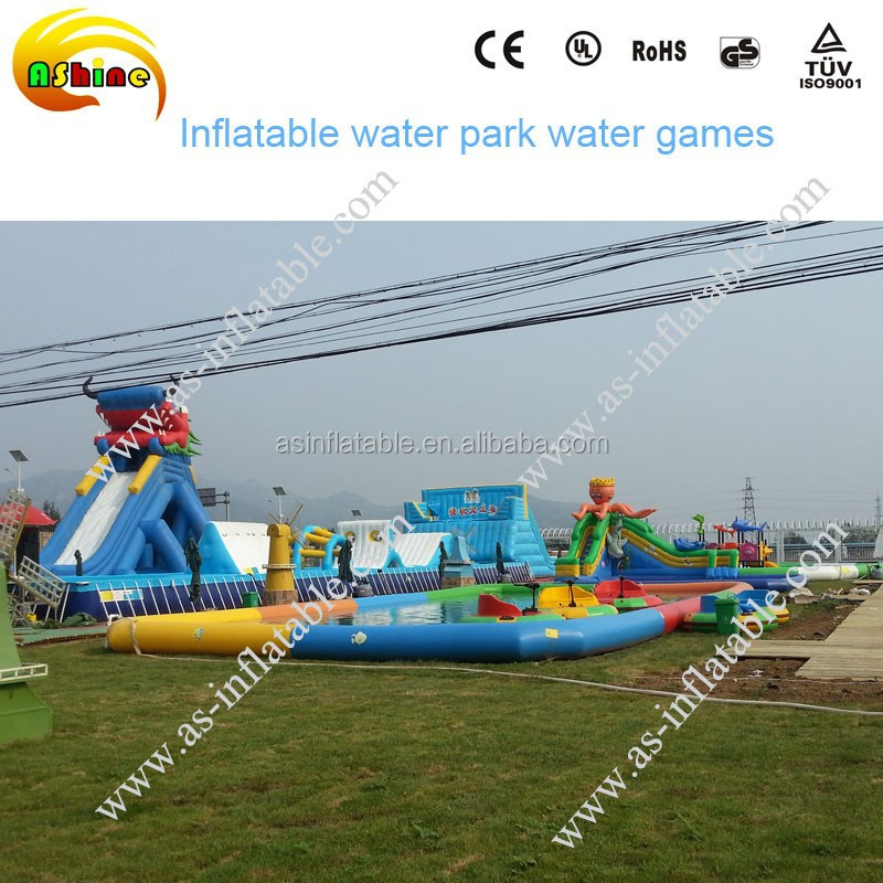 CE Fun giant inflatable water floating playground on sale