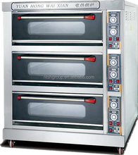 electric gas bread oven bakery