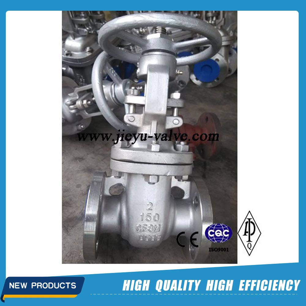 CF8 CF8M Stainless Steel Gate Valve