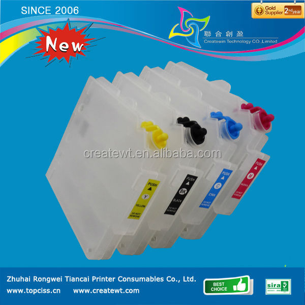Rongwei refill ink cartridge for ricoh gc21 cartridge