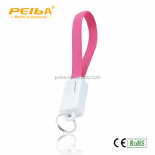 2015 Hot selling keychain design usb 3.0 data link cable to charge sync mobile phones