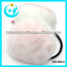 2012 fashion faux fur ear warmer