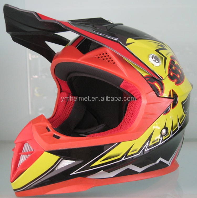 YM-211 ECE cross kids helmets unique motorcycle helmets Off Road Racing Helmet