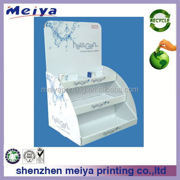 Meiya moisturizers or skin care beauty products Cardboard Counter Display