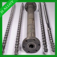 Bimetallic single screw and barrel from JS-ALLOY