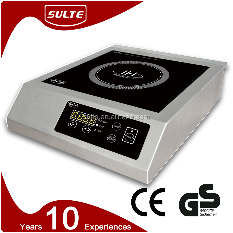 Buffet Equipment White Induction Hobs for Food Warmer