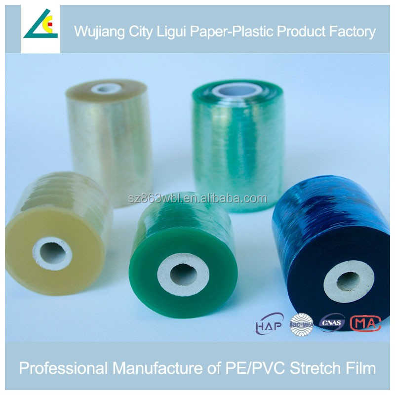 flexible self-adhesive rolled PVC soft film
