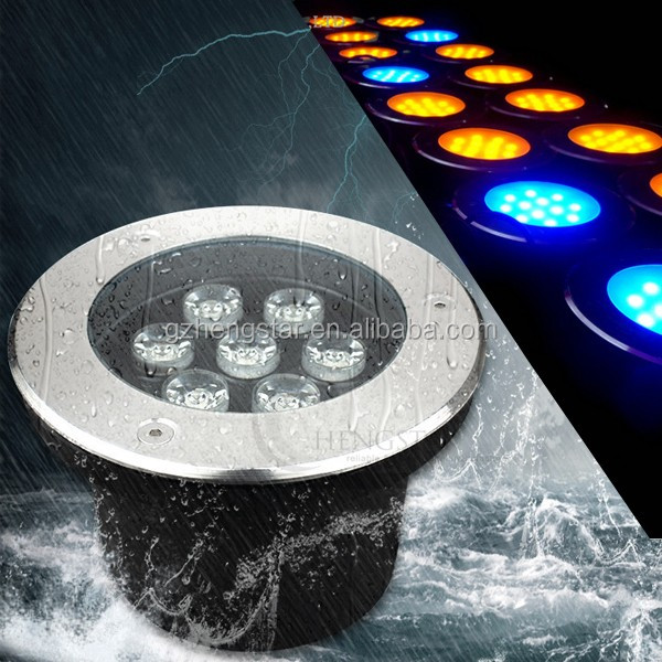 AC85-265V garden led recessed ip67 waterproof led ground buried light