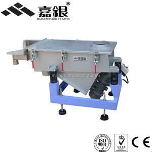 CE powder linear Vibrating Screen, granular material shale shaker