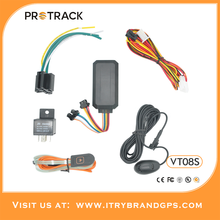 Accurate tracking gps/gsm vehicle/motorcycle tracker VT08S