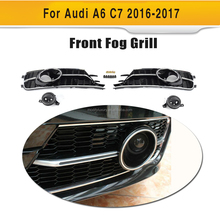 A6 Fog Lamps Cover for Audi,ABS Chromed A6 to S6 Fog Lamps Cover