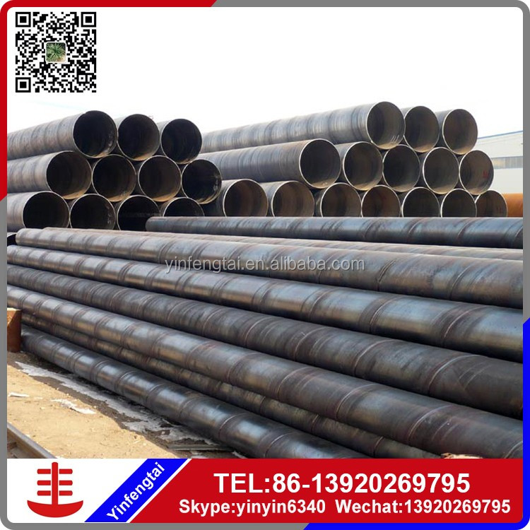 Low alloy cold formed Q460B hollow black round LSAW welded steel pipe/tube