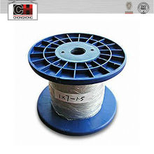 7x7 pu coated wire rope