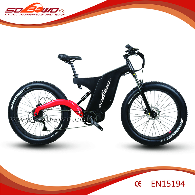 Bafang Ultra 1000w middle motor 48v 26ah Powerful MTB,full suspension electric bike bicycle
