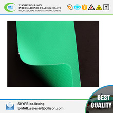 380GSM 840D*840D 9*9 Glossy or Matte PVC Laminated Warp Knitting Tarpaulin / Side Curtain Tarp Material Fire Retardant
