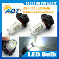 H10 16leds Ultra tech lighting with high power epistar smd led for all cars