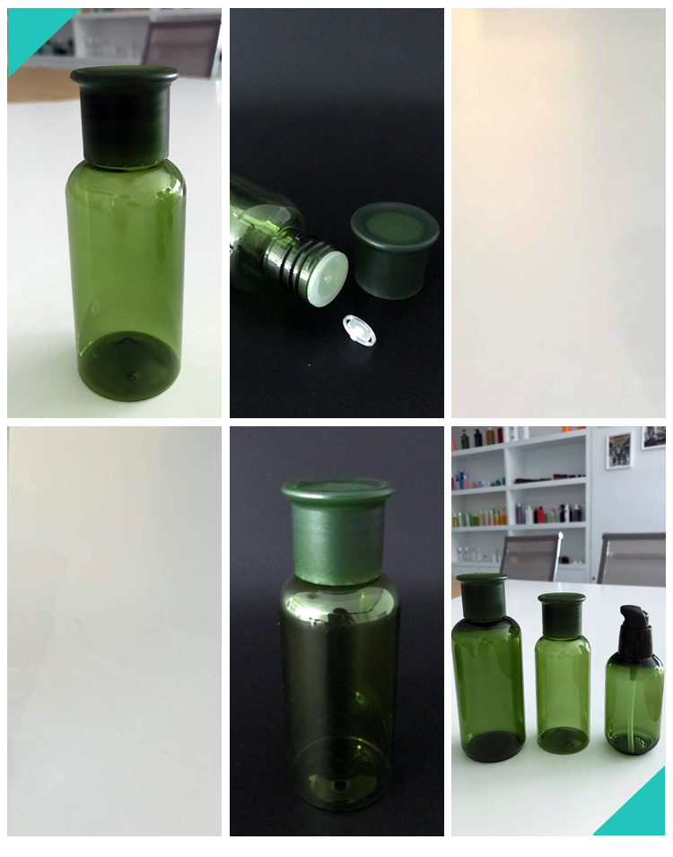 100ML OEM HOT SALE COSMETIC LOTION PLASTIC PET BOTTLE