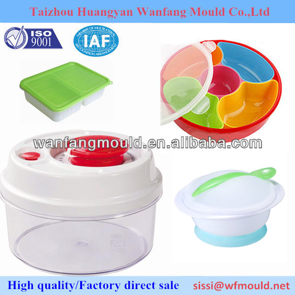 Professional plastic candy box container mould/Multi compartment box mold/DIY injection mould maker