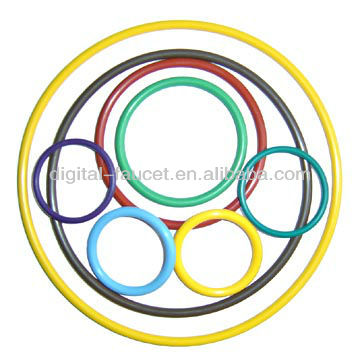 510 ego Colorful e cig o ring