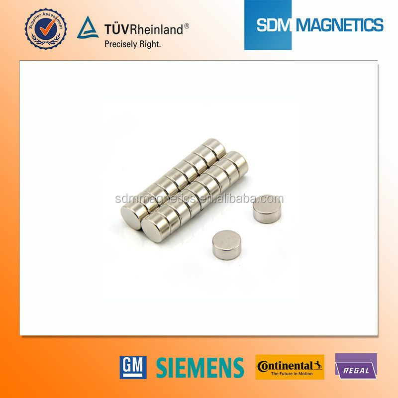 Industrial Application High Standard 5mm x 5mm x 3mm Neodymium Magnet