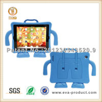 Child Safe Kids Friendly Foam Protective 9.7 inch tablet cover with stand for iPad
