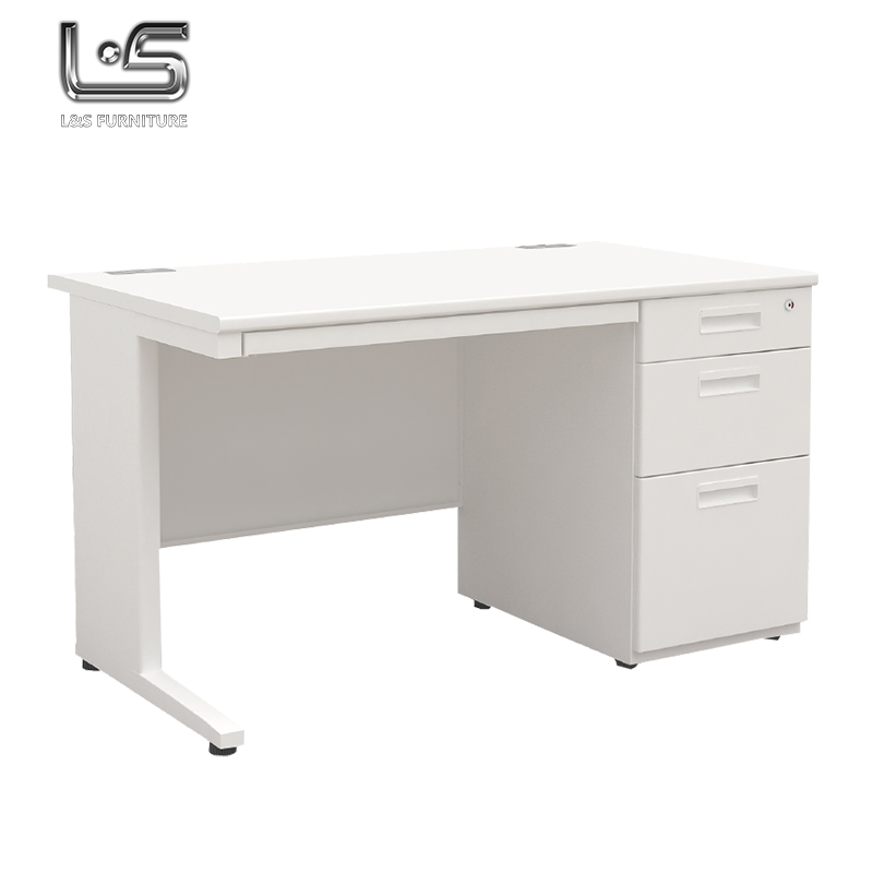 Commercial Furniture Steel Single Side Office Desk, View Office Desk, L U0026 S  Product Details From Tianjin Lu0026S Office Furniture Co., Ltd. On Alibaba.com