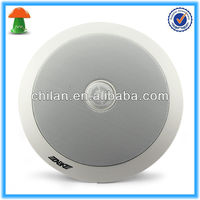 1'' 6.5'' High Power Coaxial Ceiling Speaker ABS Material Crosscover WA126