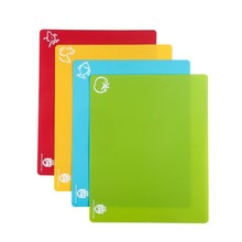 Cut and Slice Flexible Cutting Boards,folding chopping board,plastic flexible chopping cutting board
