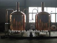 red copper beer micro brewery equipment