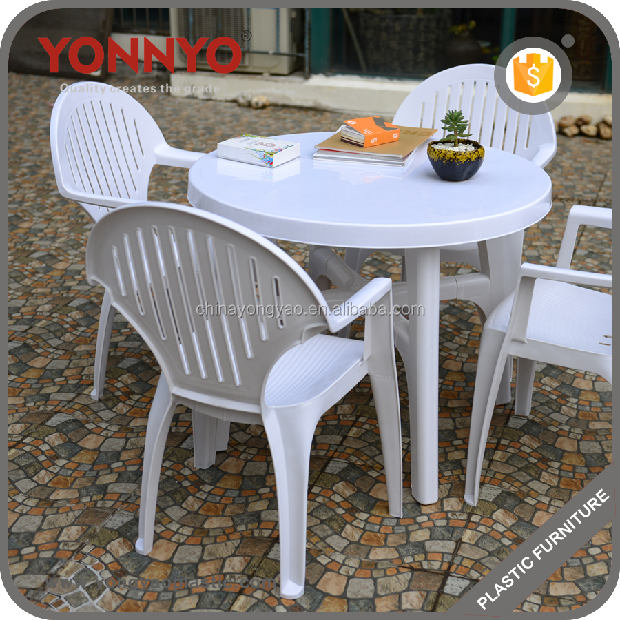 Best price manufacturer wholsale stackable cheap outdoor garden plastic table and chair