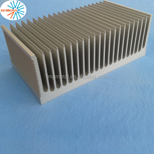 extrusion aluminum liquid cooled heat sink