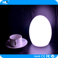 Super bright color change wireless LED decorative light up ball / fancy LED magic egg ball light
