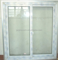 pvc window for sliding in Guangzhou factroy