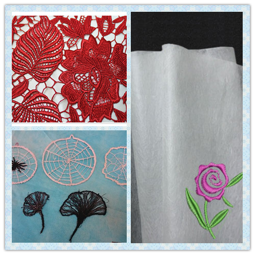 Water-Soluble Paper for embroidery backing